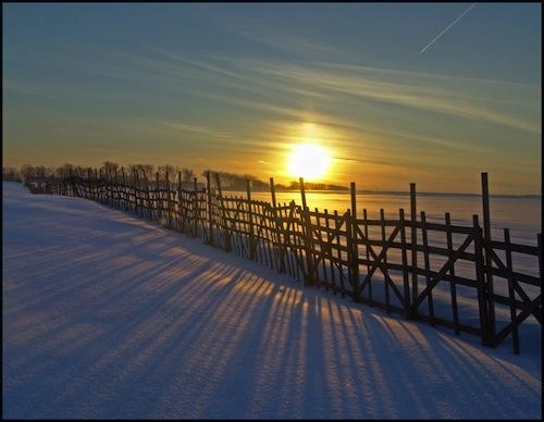 Iarna si raza mea de soare