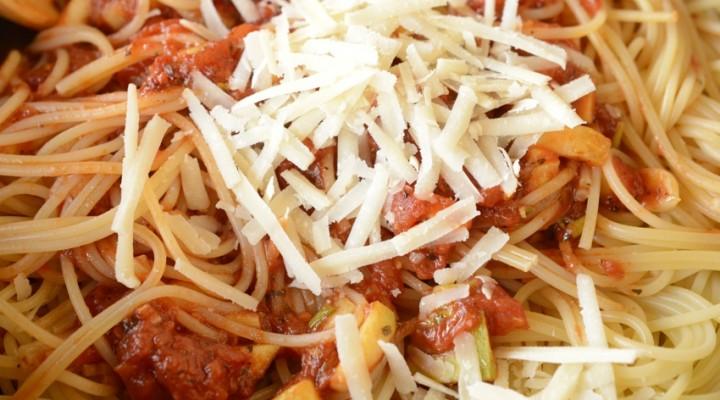 Spaghetti cu dovlecel