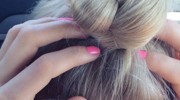 "Hair tutorial ""Coc impletit"""