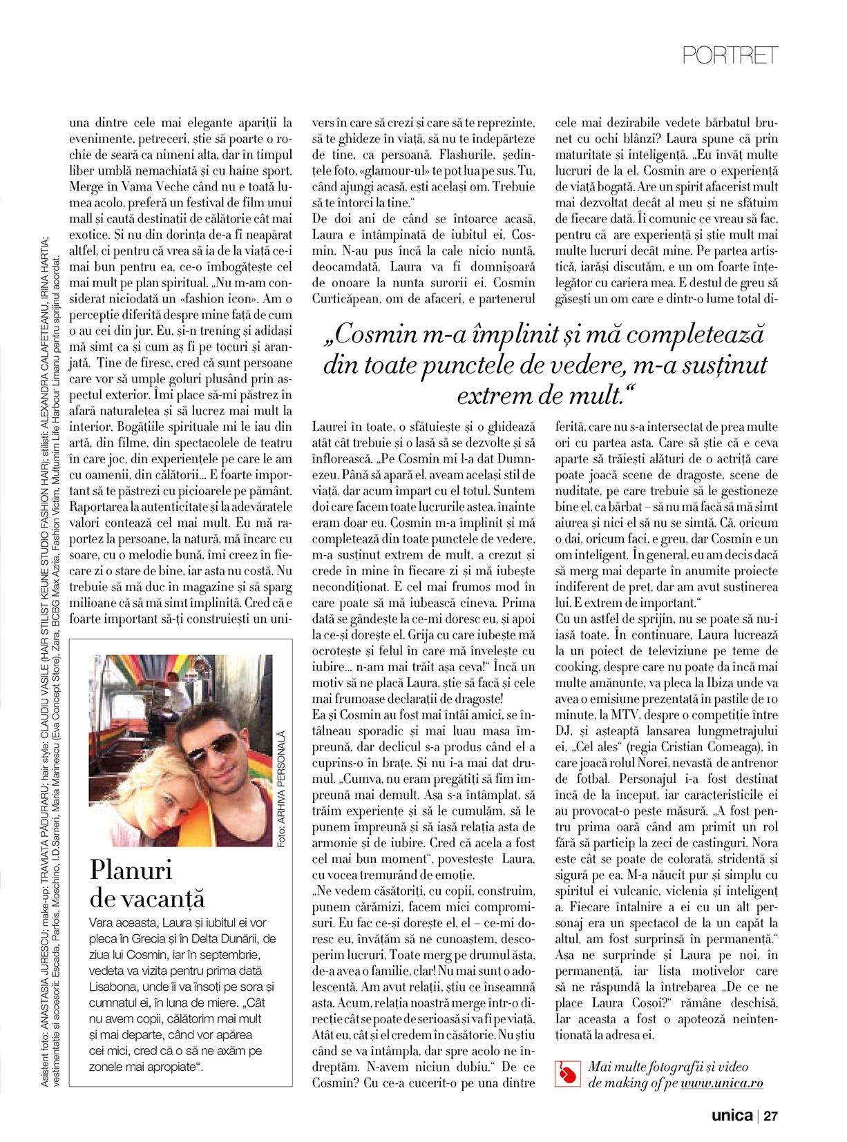 Laura Cosoi - Unica iulie 2014 - 06