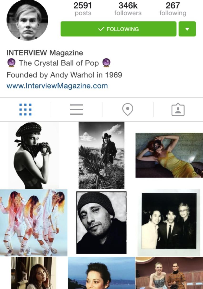 Placere vinovata:  #Instagram