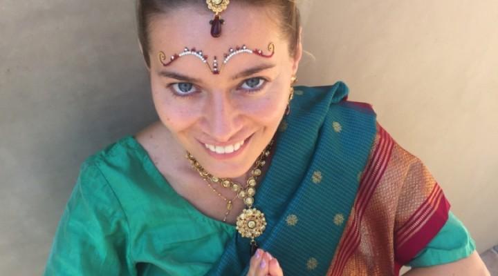 Mireasa in sari