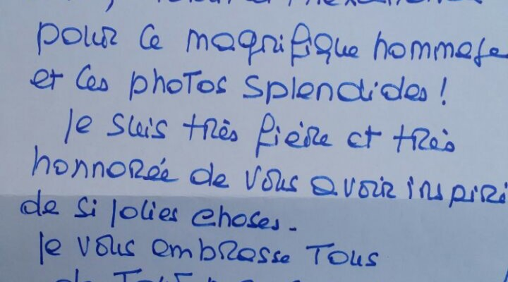 Scrisoare de la Brigitte Bardot