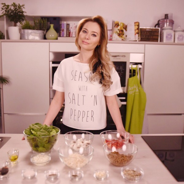 VERTICAL TASTE: Lentil Warm Salad (Salata Calda de Linte)