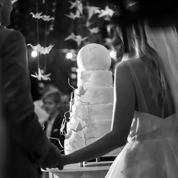 Vertical Wedding: Tort si CandyBar