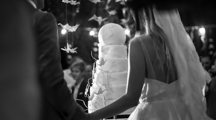 Vertical Wedding: Tort si CandyBar