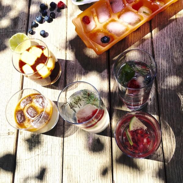 Vertical Taste (Summer Taste): Gheata Decorativa