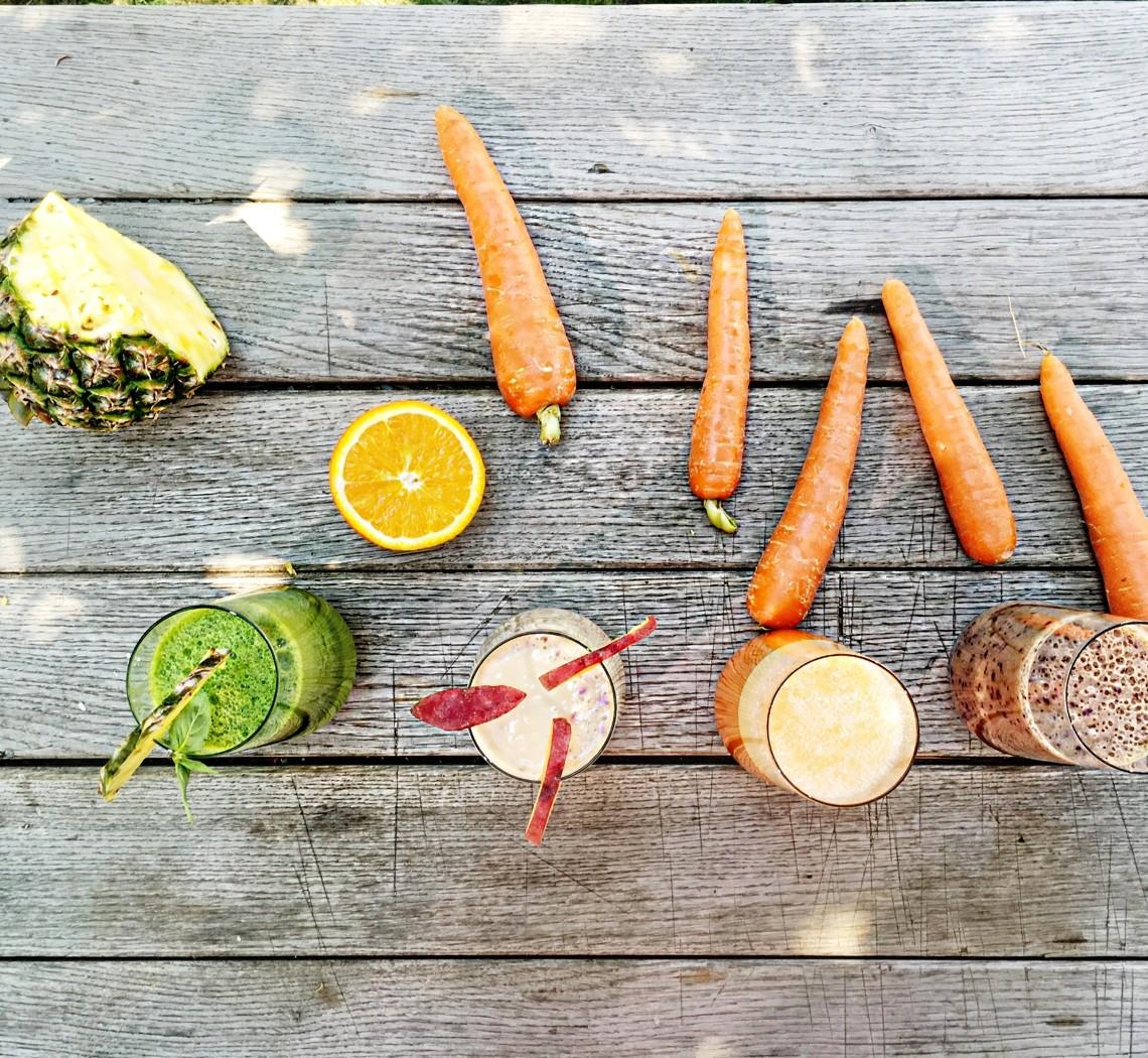 Vertical Taste (Summer Taste):  4 Smoothie-uri Sanatoase