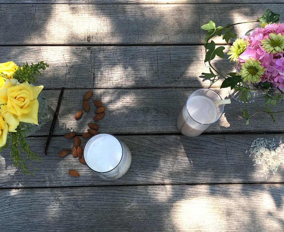 Vertical Taste (Summer Taste): Lapte de migdale & Lapte de orez