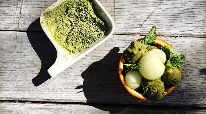 Vertical Taste: Matcha Ice Cream (Inghetata Matcha)