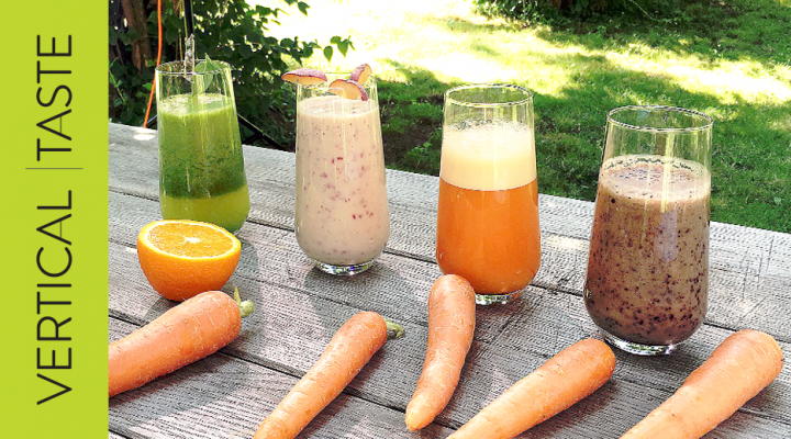 4 Healthy Smoothies/ 4 Smoothie-uri Sanatoase