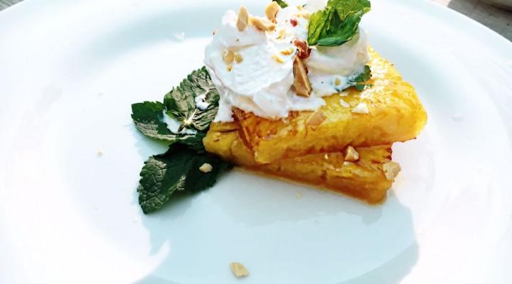 Vertical Taste – Desert:  Ananas cu frisca din lapte de cocos