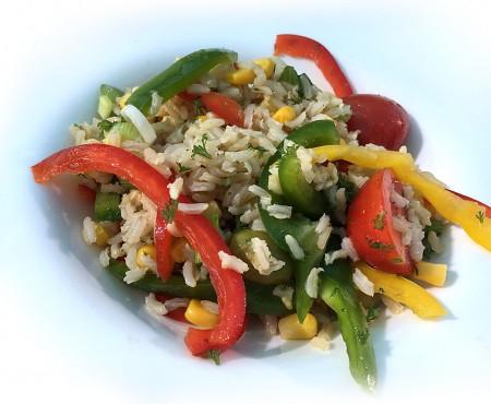 Moroccan Salad (Salata Marocana)