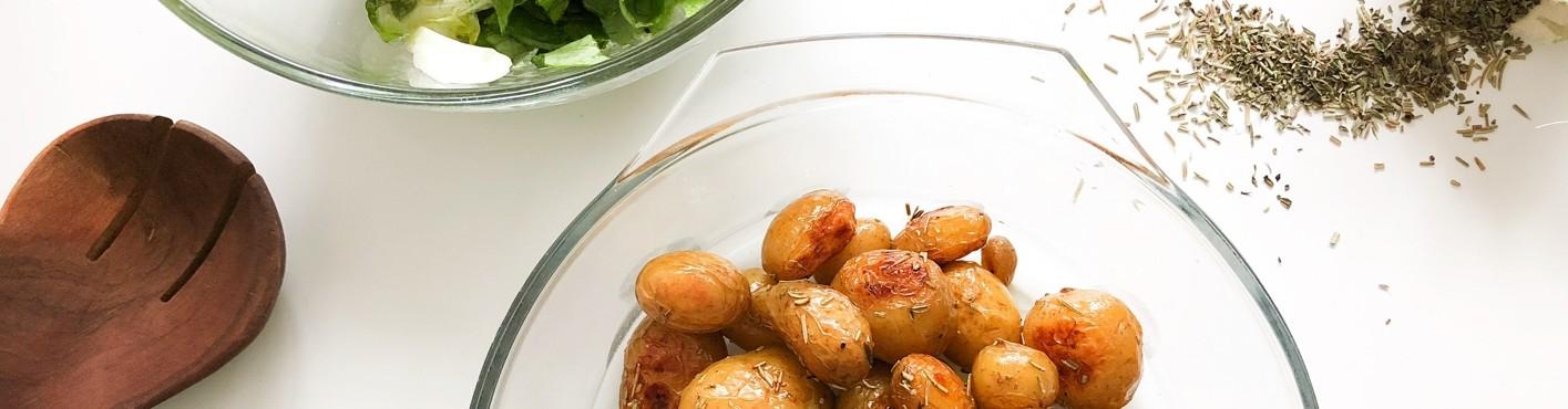 Vertical Taste: Cartofi noi la cuptor cu ierburi