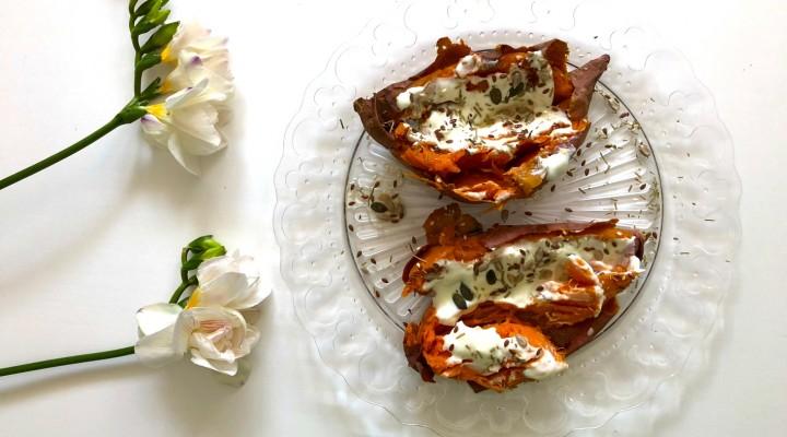 Vertical Taste: Cartofi dulci la cuptor