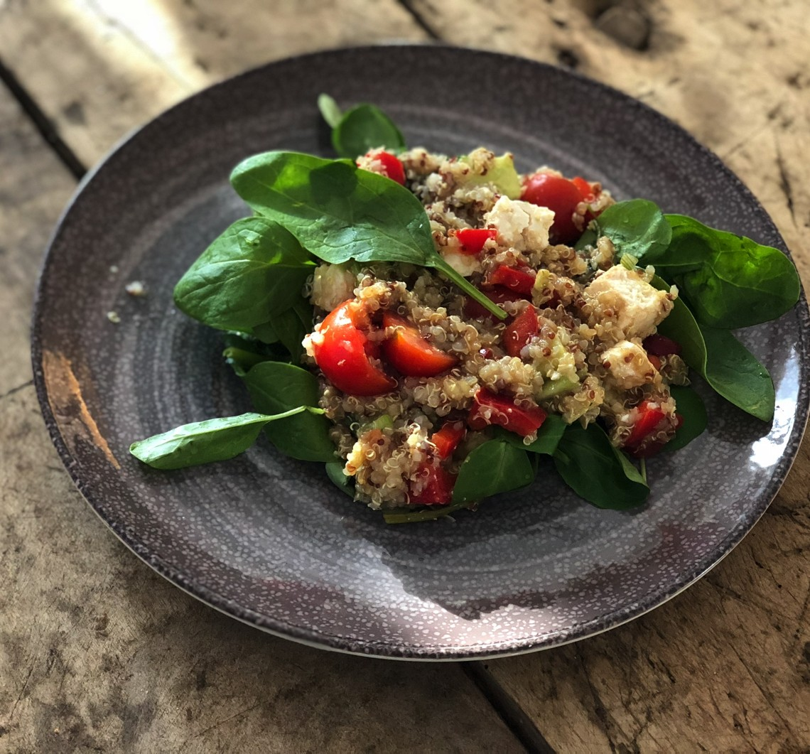 Vertical taste: Salata quinoa