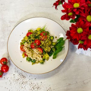 SarcinaZEN by AptaNUTRICIA: Salata de varza de Bruxelles
