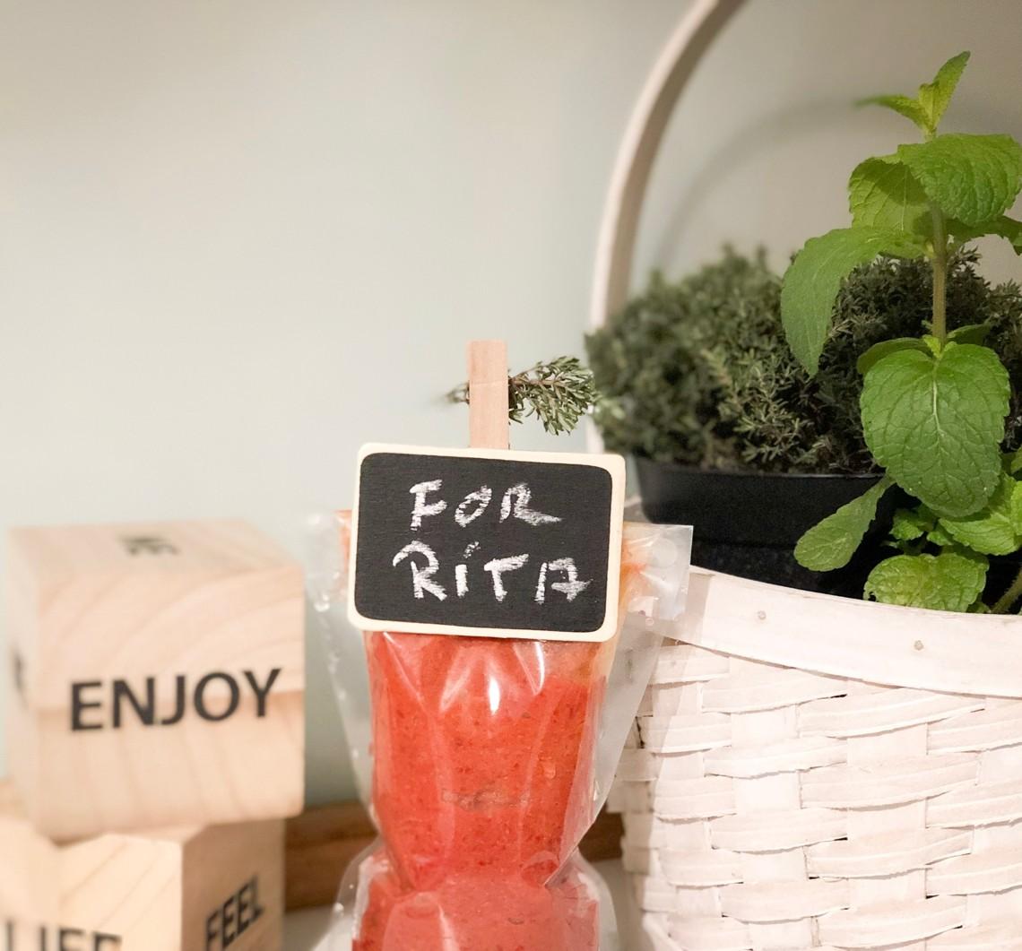 Provizii pentru Rita